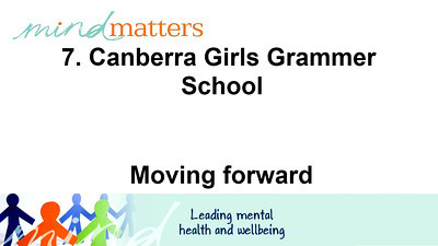 7. Canberra Girls Grammar School - Moving Forward