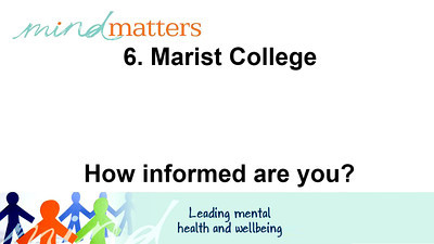 6. Marist College - How informed are you?