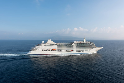 The majestic all-suite Silver Muse - Photo courtesy Silversea_
