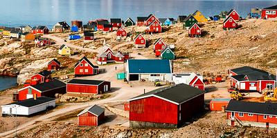 Ittoqqortoormiit- Inuit Dorf