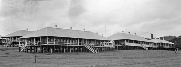 View of Dunwich Benevolent Asylum - North Stradbroke Island - Queensland State Archives 2413