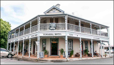 The authentic old Commercial Hotel at Ulmarra never disappoints - www ulmarrahotel com au