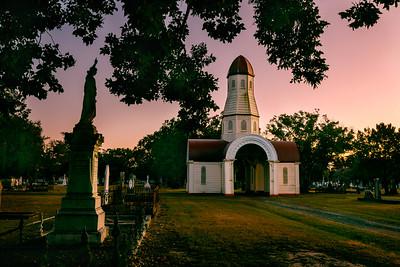 Sunrise at Mortuary Chapel Maryborough Cemetery