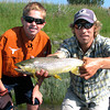 Will Coyne & Brian with a big one. <br /> Photo: Todd Coyne
