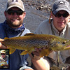 Before and After shots... Outfitter Hank Bechard and Pres Hales at it again! <br /> Photo: Stan Hales