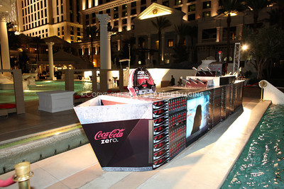 1204125-033     LAS VEGAS - APRIL 26: The Coca-Cola Pool Party during the 2012 CinemaCon Convention held at Caesars Palace on April 26, 2012 in Las Vegas, Nevada.  (Photo by Ryan Miller/Capture Imaging)