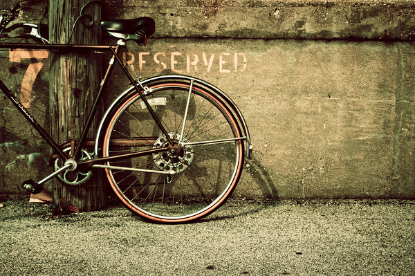 reserved parking.