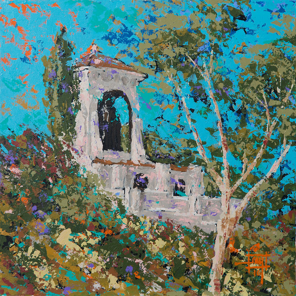 059 Avalon Bell Tower 14x14