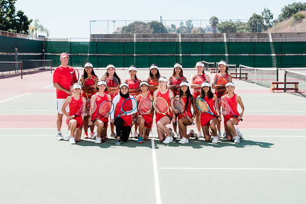 Junior Varsity Girls Tennis (No Title)