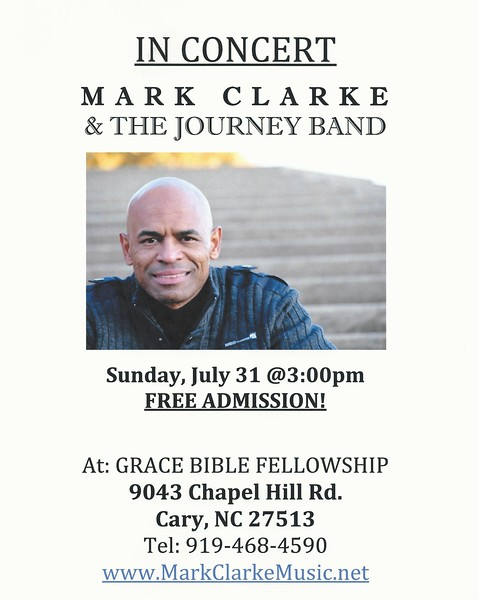 2011 Mark Clarke and The Journey Band