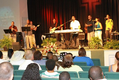 Mark Clarke and The Journey Band in concert at Grace Bible Fellowship