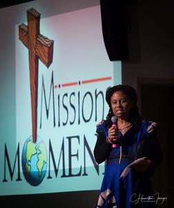 Baptismal Sunday and Mission Moment. February 18, 2018