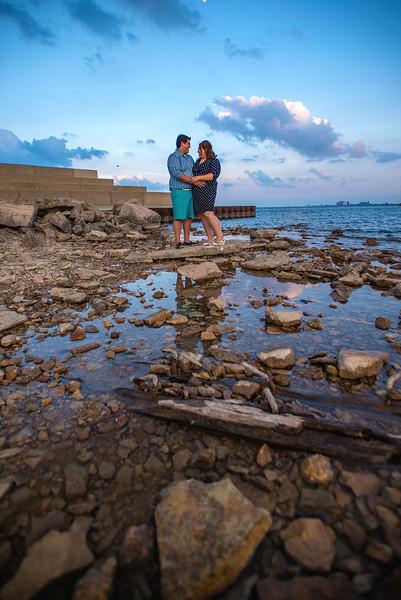 Cristy & Dan: {engaged}!