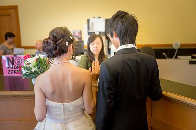 Pickey and Bryan wedding