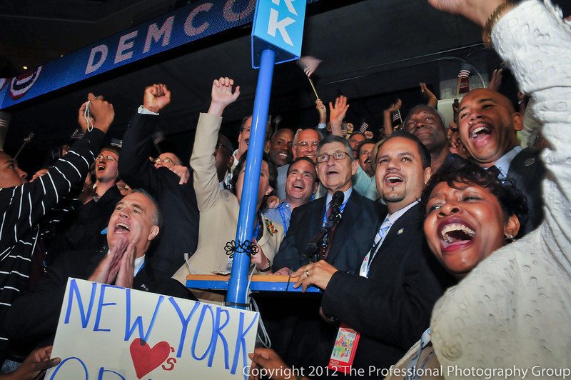 Roll Call of the States on Wednesday night of the DNC 2012