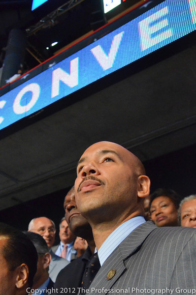 On the floor of the DNC Convention with the NY Delegation on Wednesday night