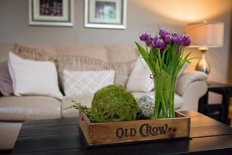 Home Decor Old Crow Box