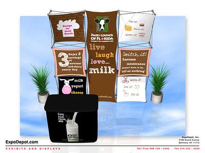 Dairy Council, Xpressions Xpress Custom Rendering 03 http://expodepot.com/xpressions-xpress-c-510.html