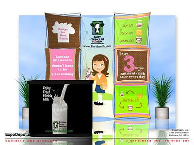 Dairy Council, Xpressions Xpress Custom Rendering 04 http://expodepot.com/xpressions-xpress-c-510.html