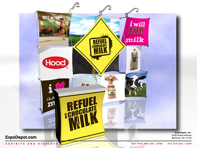 Dairy Farmers Xpressions 4x3 Custom Rendering  02 http://expodepot.com/xpressions-stretch-fabric-c-293.html