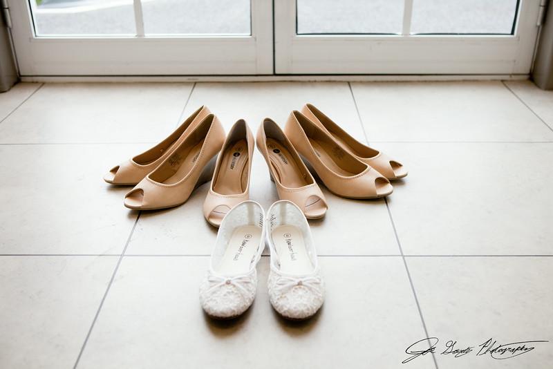 Dale & Emma's Wedding Preparation Shots.