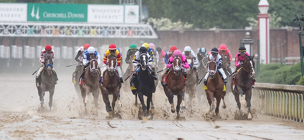 the start of the kentucky derby