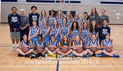Depoali Girls B/ball 2014