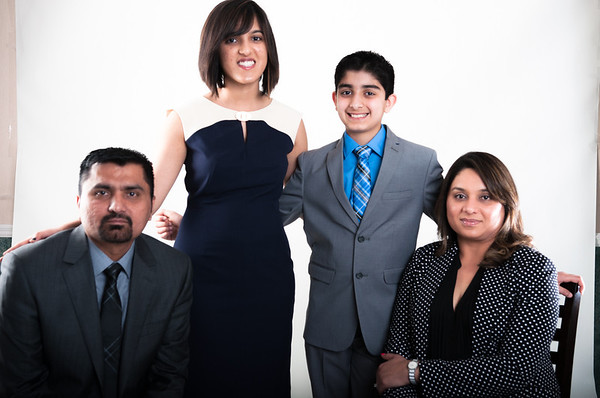 Dilshad and Feroz Family Shoot