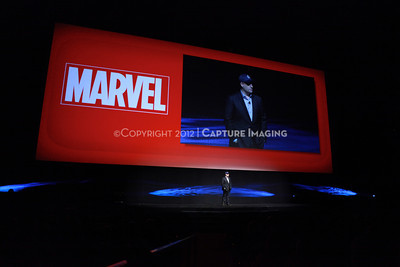1204094-043     LAS VEGAS - APRIL 24: The Disney, DreamWorks, Marvel and Pixar Highlights Presentation during the 2012 CinemaCon Convention held at Caesars Palace on April 24, 2012 in Las Vegas, Nevada.  (Photo by Ryan Miller/Capture Imaging)