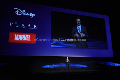 1204094-040     LAS VEGAS - APRIL 24: The Disney, DreamWorks, Marvel and Pixar Highlights Presentation during the 2012 CinemaCon Convention held at Caesars Palace on April 24, 2012 in Las Vegas, Nevada.  (Photo by Ryan Miller/Capture Imaging)