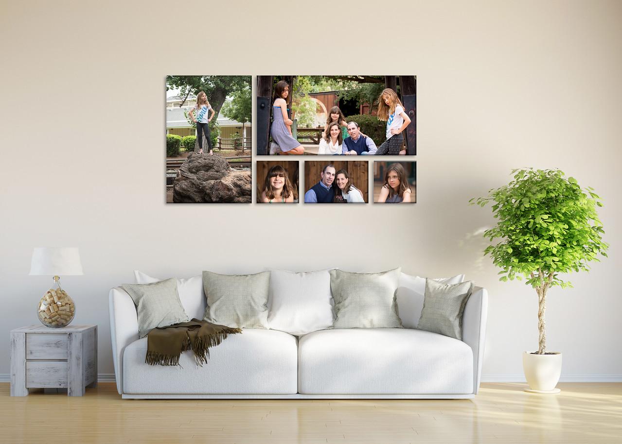 Wall Display 5 Photos
