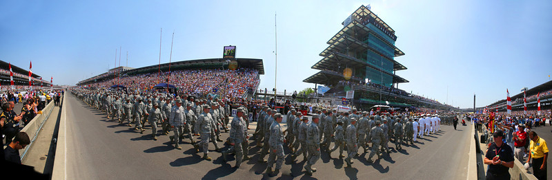 Indy 500: Military Parade