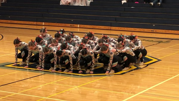 Dulcineas Kick routine at Bellevue Competition - December 7th, 2019