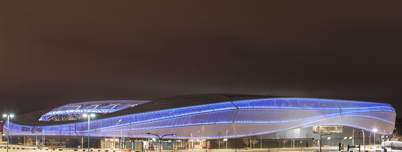 Allianz Field Lit Up For New Year's Eve 2018 - December 31, 2018