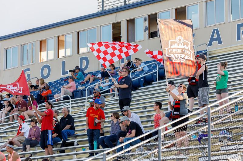 WPSL 2018: Fire 98 SC vs Dakota Fusion FC - May 25, 2018