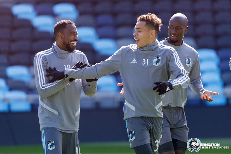 MLS 2019:  Minnesota United First Team Practice At Allianz Field - April 3, 2019