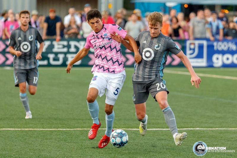 Battle Of The Birds:  Minnesota United FC vs Forward Madison FC - June 25, 2019