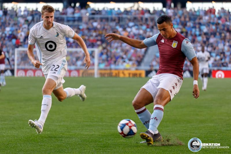 International Friendly 2019:  Minnesota United vs Aston Villa FC - July 17, 2019