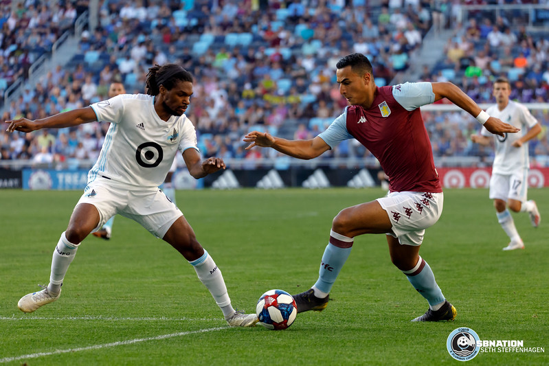 International Friendly 2019:  Minnesota United vs Aston Villa FC - July 17, 2019