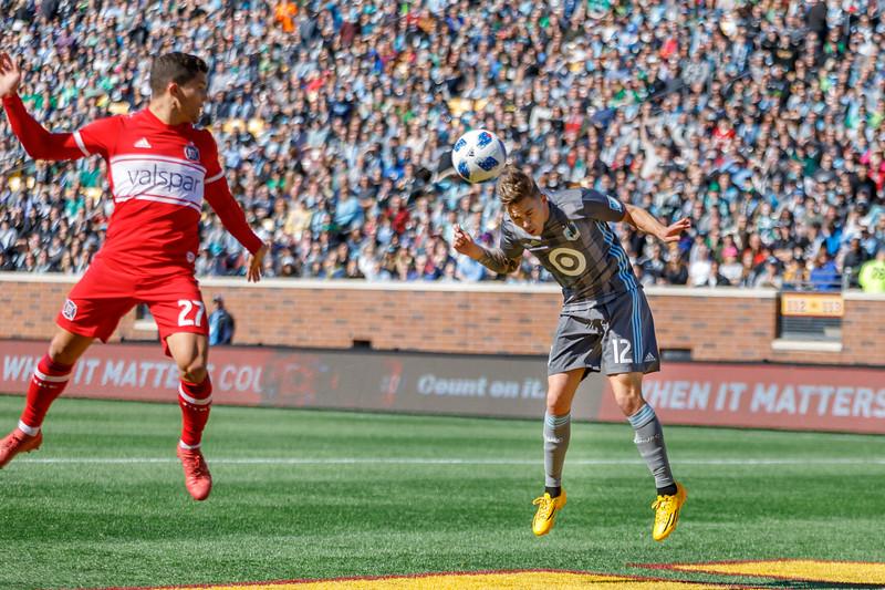 MLS 2018: Minnesota United vs Chicago Fire - March 17, 2018