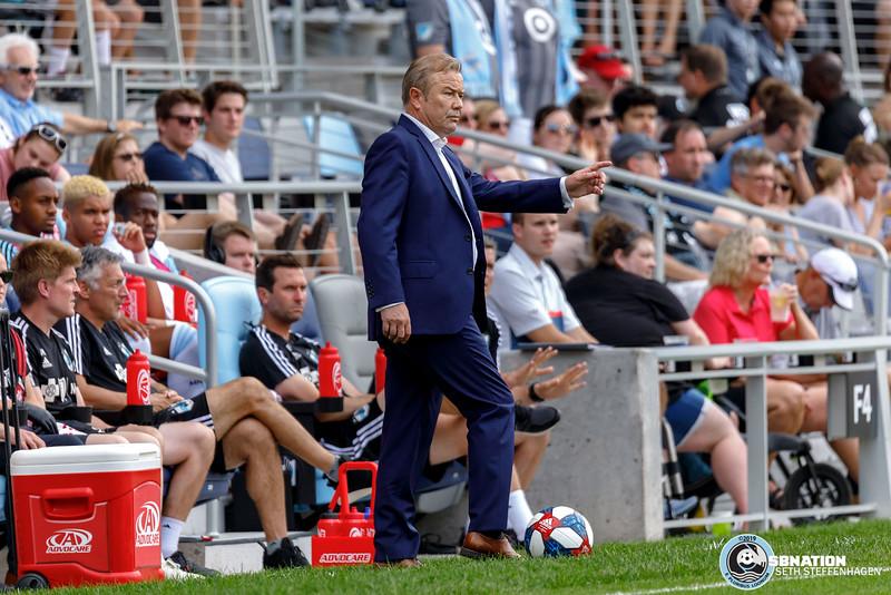 MLS 2019:  Minnesota United vs FC Cincinnati - June 29, 2019