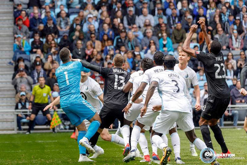MLS 2019:  Minnesota United vs DC United - April 28, 2019