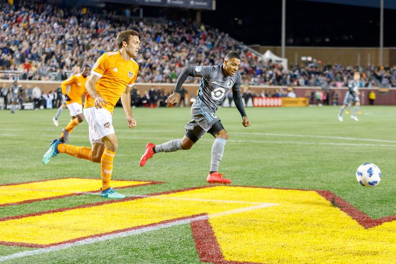 MLS 2018: Minnesota United vs Houston Dynamo - April 28, 2018
