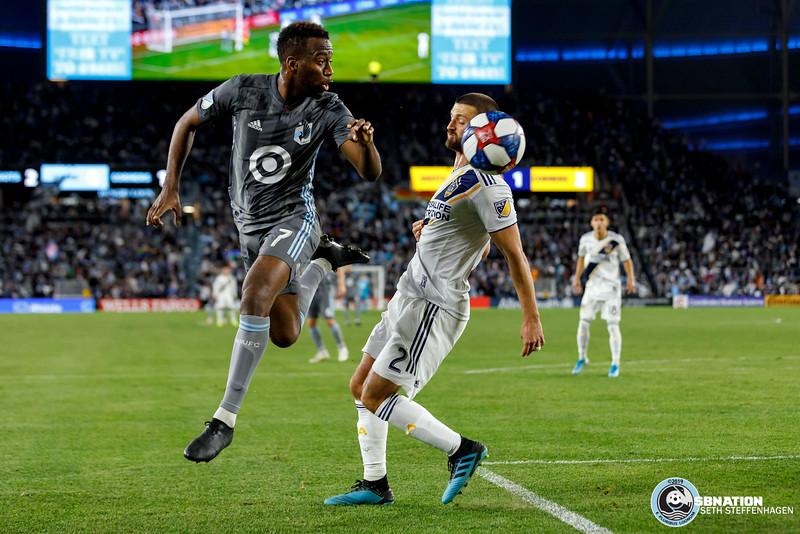 MLS Playoffs 2019:  Minnesota United vs LA Galaxy - October 20, 2019