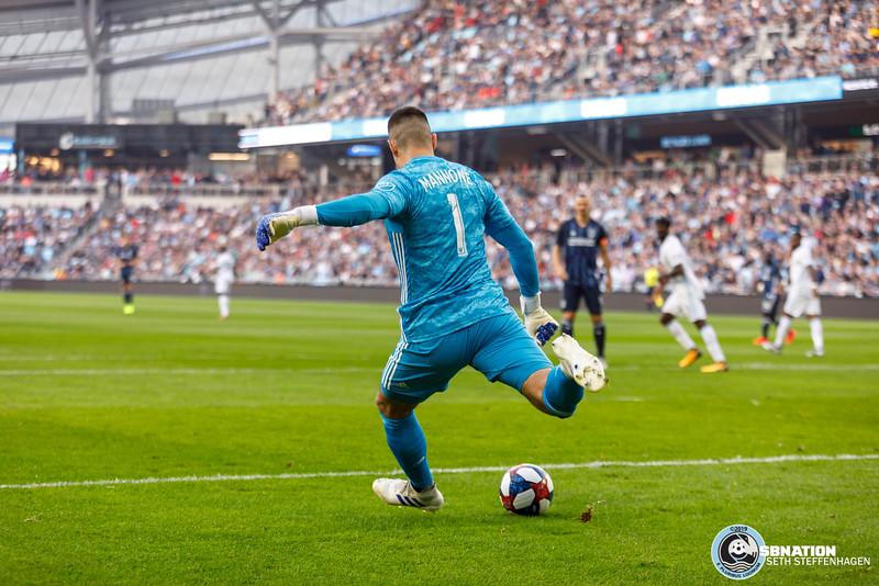 MLS 2019:  Minnesota United vs LA Galaxy - April 24, 2019
