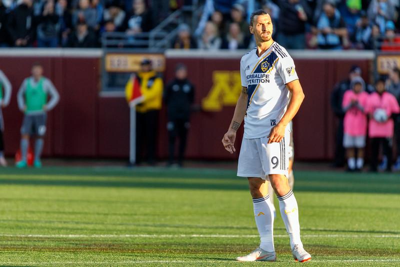 MLS 2018: Minnesota United vs LA Galaxy - October 21, 2018