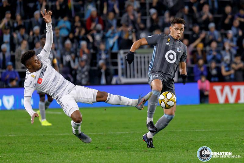 MLS 2019:  Minnesota United vs LAFC - September 29, 2019