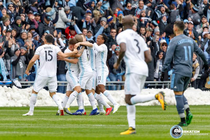 MLS 2019:  Minnesota United vs NYCFC - April 13, 2019
