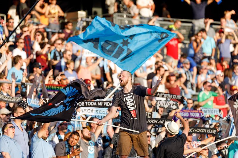 MLS 2018: Minnesota United vs New England Revolution - July 18, 2018