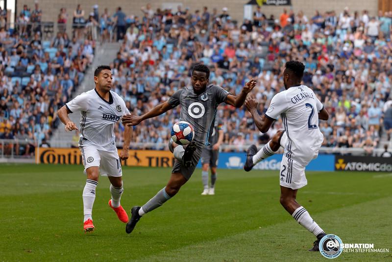 MLS 2019:  Minnesota United vs Philadelphia Union - June 2, 2019